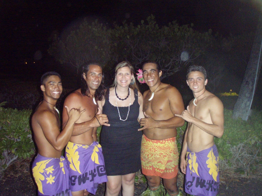 Me with the Hawaiian Guys