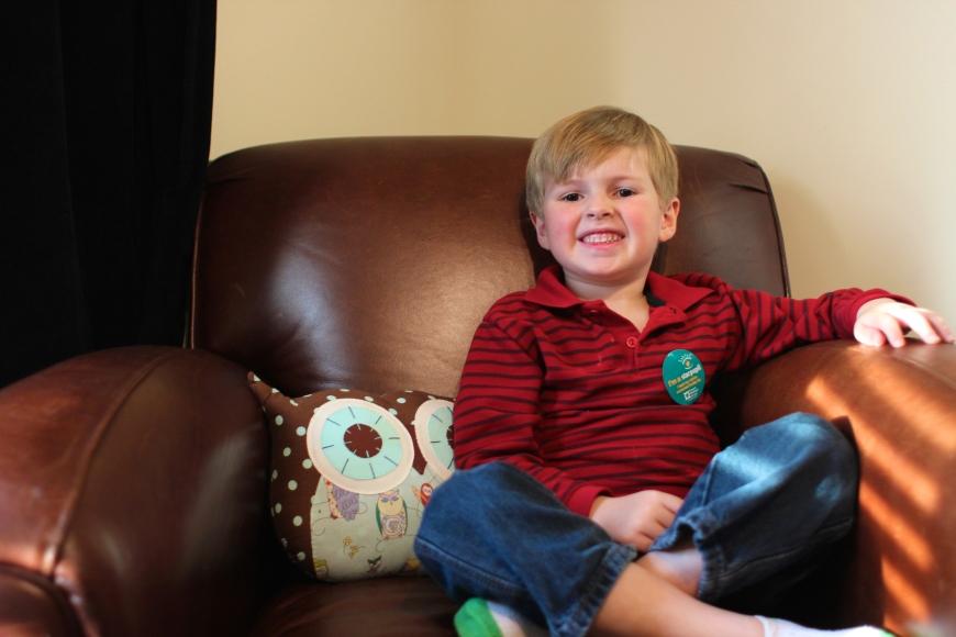 Parker, 5 Years Old November, 2014