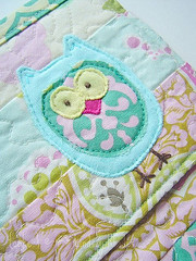 Owl Applique`