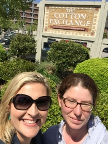 Shopping at the Cotton Exchange